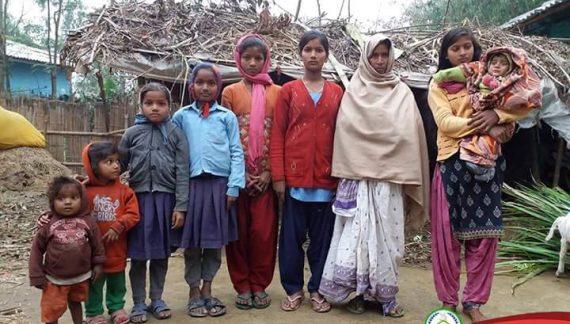 आठ छोरीकी परिवार: सहयोगका लागि अपील